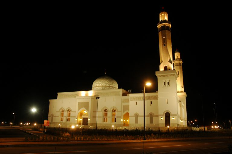 Sultan Qaboos Mosque at Dhank