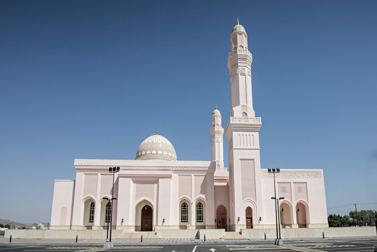 Sultan Qaboos Mosque at Mahdah
