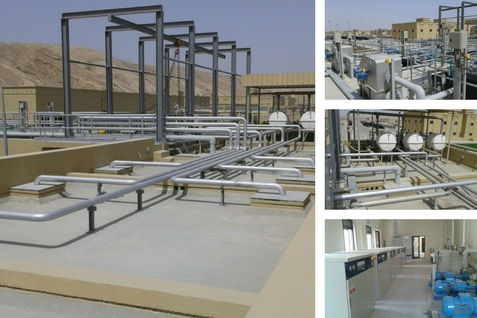 Sewage Treatment Plant - Al Khoud.