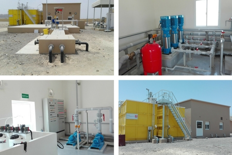 Sewage Treatment Plant - Ibra.