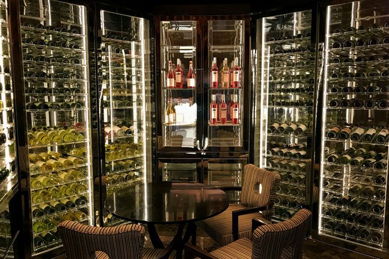 Wine Wall - Sheraton Hotel