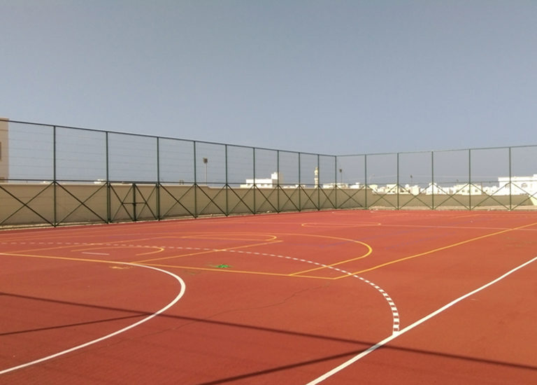 MINISTRY OF EDUCATION – Basic School at Al Kamil– Sports Flooring
