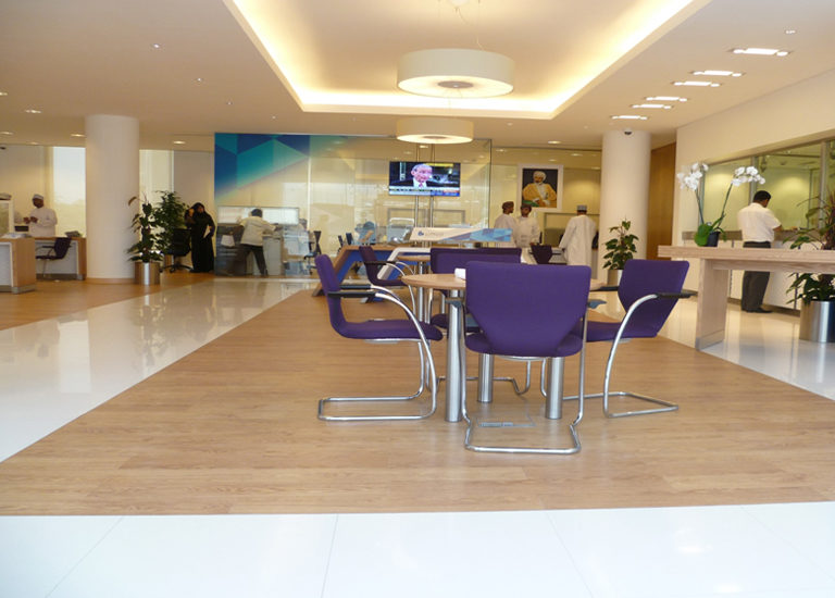 BANK  OF BEIRUT – Vinyl Flooring