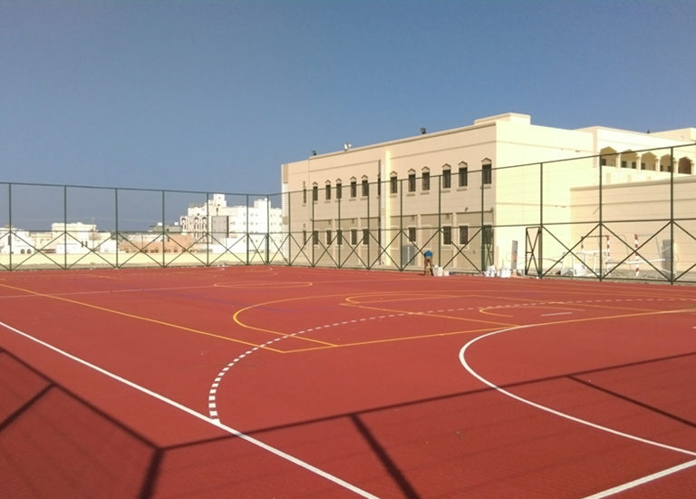 MINISTRY OF EDUCATION – Basic School at Al Qabil – Sports Flooring