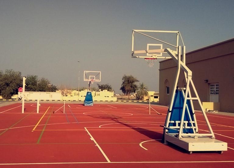 ROYAL OMAN POLICE, Police Complex, Bidbid – Sports Flooring