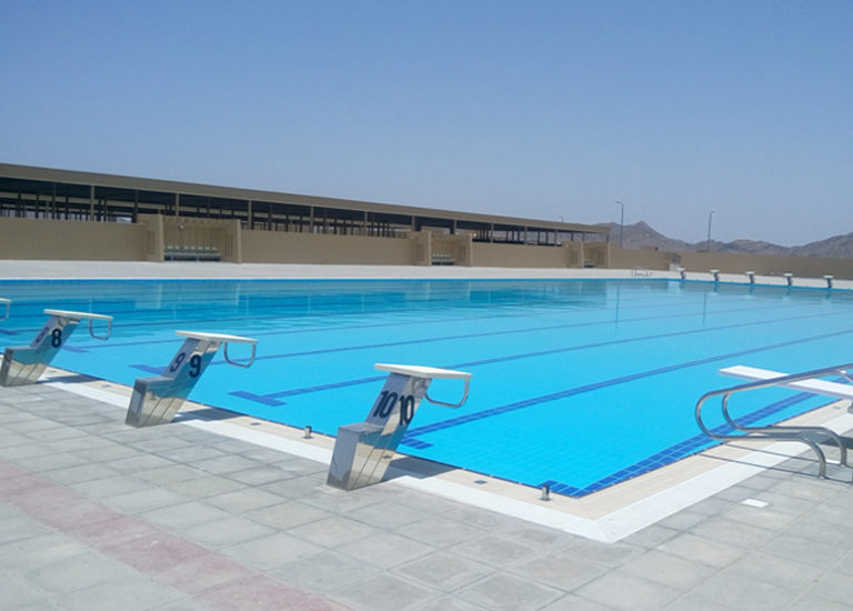 ROYAL OMAN POLICE, STF- Complex, Sohar – Swimming pool Tiles